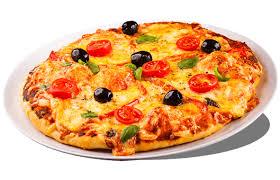Pizza pour la pizza italienne au feu de bois