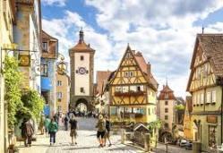 Village pour le Rôti de porc croustillant à la bavaroise