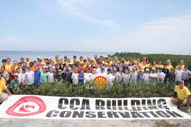 CCA Louisiana Shell Oil Floating Islands