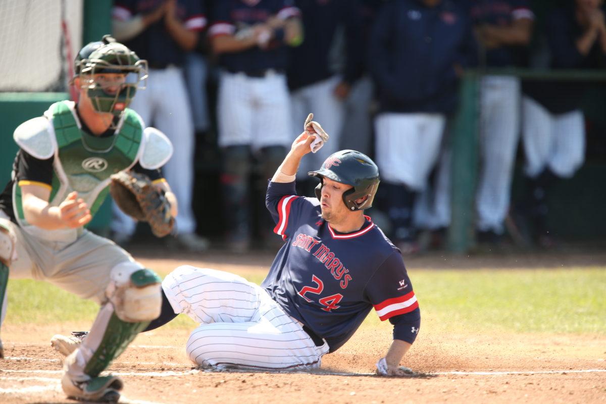 Baseball Saint Mary's Gaels vs Universityof San Francisco Dons.Game ( 2 ) of the Doubleheader