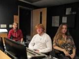 Kamaria Soffer, elam Bender, Lighting designers. Hanna Lawson sound designer