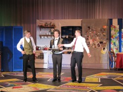 Tyler Caspar, Sam Millson, David Miller as Robert, Underling, George