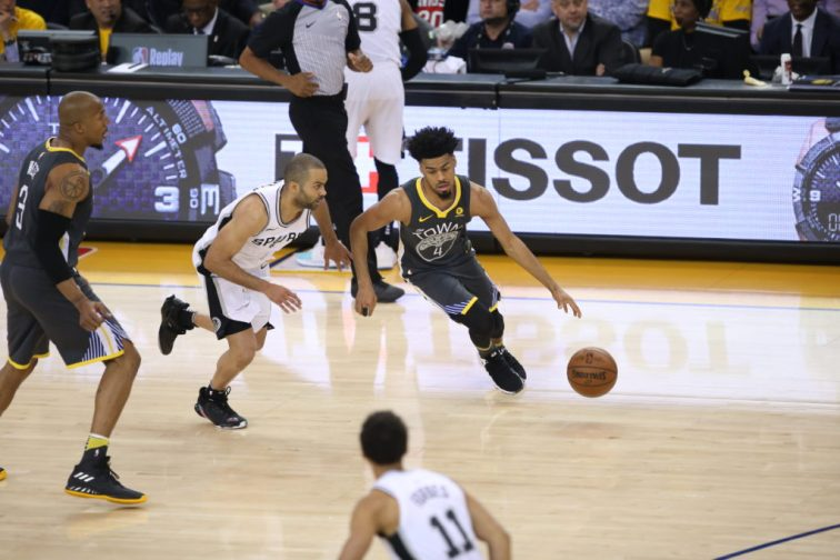 Golden State Warriors vs San Antonio Spurs 2018 NBA First Round Playoffs