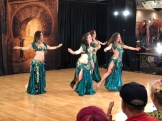Belle Epoque, a Benicia dance troupe, performs at Rakkasah West in Concord.