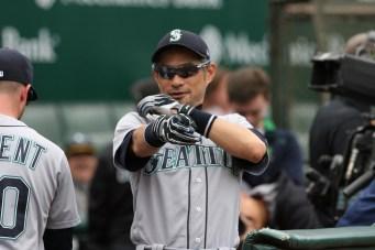 Oakland Athletics vs Seattle Mariners Ichiro Suzuki Photos by Tod Fierner Martinez News-Gazette