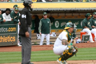 Oakland Athletics vs Seattle Mariners Skipper Bob Melvin Photos by Tod Fierner Martinez News-Gazette