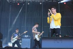 BottleRock ?First time BottleRockers' The Wrecks put on a great performance on the final day at BottleRock Photo by Stephen Langsam