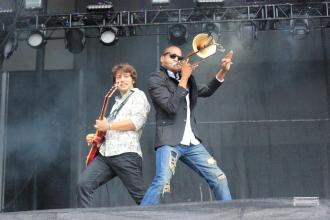 BottleRock ?New Orleans was present on Friday as Trombone Shorty brought an epic funk feel to BottleRock. Photo by Stephen Langsam