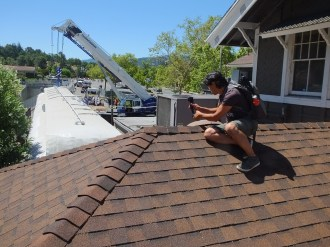 MHS's Keith Park Places Go-pro Camera on Rooftop to take Time Lapse Photos