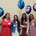 Pleasant Hill-Martinez AAUW Scholarship and Tech Trek recipients