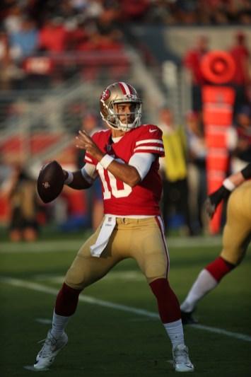 San Francisco 49ers vs Cowboys #10 Jimmy G Photos by Tod Fierner ( Martinez News-Gazette )