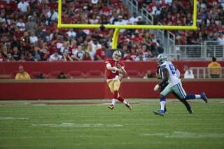 San Francisco 49ers vs Cowboys #3 QB C.J. Beathard Photos by Tod Fierner ( Martinez News-Gazette )