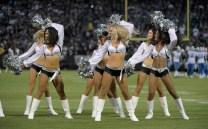 Oakland Raiders vs Detroit Lions Raiderettes Photos by Gerome Wright ( Martinez News-Gazette )