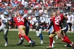 San Francisco 49ers vs Detroit Lions #29 Lions RB LeGarrette Blount Photos by Tod Fierner (Martinez News-Gazette)