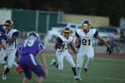 Alhambra Bulldogs vs College Park Falcons #13 SB Mister Davis Photos by Tod Fierner ( Martinez News-Gazette )