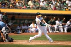 Oakland A's vs New York Yankees #26 3B Matt Chapman Photos by Tod Fierner ( Martinez News-Gazette )