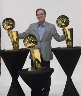 Golden State Warriors Media Day Majority Owner of the Warriors Joe Lacob Photos by Gerome Wright ( Martinez News-Gazette )