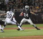 Oakland Raiders vs Los Angeles Rams Monday Night Football Photos by Gerome Wright ( Martinez News-Gazette )