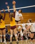 Alhambra Women's Volleyball vs Las Lomas High School Photos by Mark Fierner (Martinez News-Gazette)