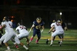 Alhambra Bulldogs vs Northgate Broncos #55 LB Sergio Martinez Photos by Tod Fierner (Martinez News-Gazette)