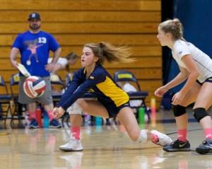 Alhambra Girls Volleyball vs Campolindo