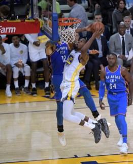 Golden State Warriors vs Oklahoma City Thunder Photos by Gerome (Martinez News-Gazette)