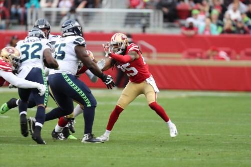 San Francisco 49ers vs Seattle Seahawks Photos by Tod Fierner (Martinez News-Gazette)