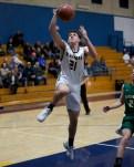 Brody Eglite has a clear path to the hoop. Photos by Mark Fierner (Martinez News-Gazette)