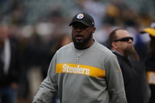 Oakland Raiders vs Pittsburgh Steelers Steelers Head Coach Mike Tomlin Photos by Tod Fierner ( Martinez News-Gazette )