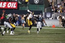 Oakland Raiders vs Pittsburgh Steelers LB #90 T.J. Watt Photos by Tod Fierner