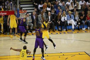 Golden State Warriors vs L.A. Lakers Photos by Kym Fortino (Martinez News-Gazette)