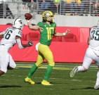 Michigan State Spartans vs Oregon Ducks #10 Jr.QB Justin Herbert Redbox Bowl