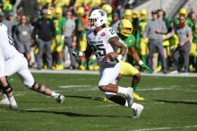 Michigan State Spartans vs Oregon Ducks #25 Jr. WR Darrell Stewart Redbox Bowl