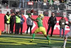 Michigan State Spartans vs Oregon Ducks #13 Jr. WR Dillon Mitchell Redbox Bowl