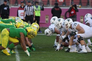 Michigan State Spartans vs Oregon Ducks Redbox Bowl