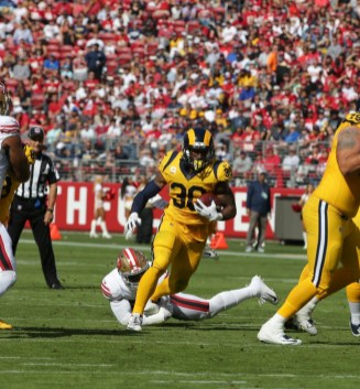 Los Angeles Rams vs New England Patriots #30 RB Todd Gurley Photos by Tod Fierner (MTZ Gazette)