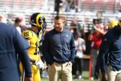 Los Angeles Rams vs New England Patriots Los Angeles Rams Head Coach Sean McVay Photos by Tod Fierner (MTZ Gazette)