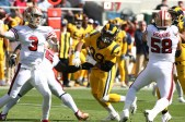 Los Angeles Rams vs New England Patriots #99 DT Aaron Donald Photos by Tod Fierner (MTZ Gazette)