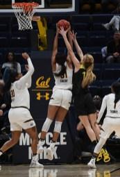 Cal Woman's Basketball vs Oregon Ducks Photos by Gerome Wright