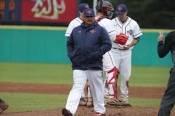 Saint Mary's Baseball vs Washington State Head Coach Eric Valenzuela Photos by Tod Fierner Martinez News-Gazette