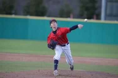 Saint Mary's Baseball vs Washington State #44 LHP Ryan Daugherty Photos by Tod Fierner Martinez News-Gazette