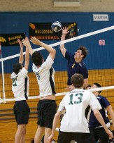 Alhambra Boys Volleyball vs Miramonte Matadores.