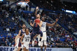 Saint Mary's Men's Basketball vs Villanova NCAA March Madness First Round XL Center Hartford Connecticut
