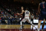 West Coast Conference Championship Saint Mary's Gaels vs Gonzaga Bulldogs #11 Center Matthias Tass Photos by Tod Fierner (Saint Mary's College Photographer)