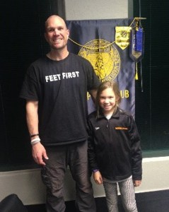 Dan Dorsett and his daughter, Aubrielle