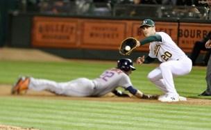 Oakland A's vs Houston Astros Photos by Guri Dhaliwal (Martinez News-Gazette)