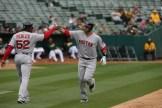 Oakland A's vs Boston Red Sox #28 DH J.D. Martinez