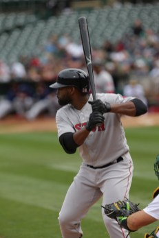 Oakland A's vs Boston Red Sox #19 CF Jackie Bradley Jr.