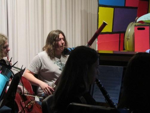 Colbin Trew on Bassoon