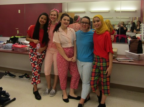 Deandra, Holly, Alyssa, Kyla, Kather